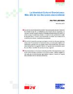 La identidad cultural dominicana