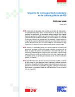 Impacto de la inseguridad ciudadana en la cultura política de RD