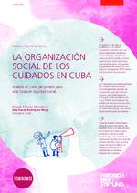 La organización social de los cuidados en Cuba