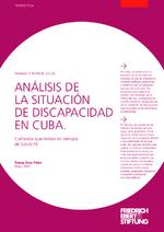 Análisis de la situación de discapacidad en Cuba