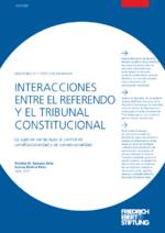 Interacciones entre el referendo y el Tribunal Constitucional