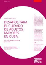 Desafíos para el cuidado de adultos mayores en Cuba